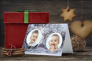Cartão de Natal Personalizado Impresso 178