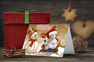 Cartão de Natal Personalizado Impresso 176