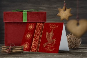 Cartão de Natal Personalizado Impresso 247