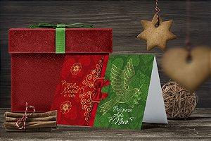 Cartão de Natal Personalizado Impresso 245