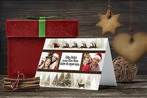 Cartão de Natal Personalizado Impresso 239