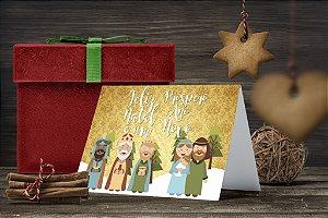 Cartão de Natal Personalizado Impresso 233