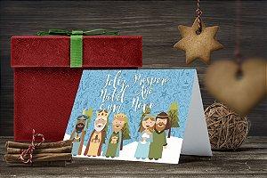 Cartão de Natal Personalizado Impresso 232