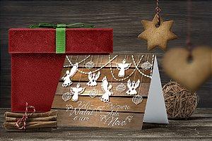 Cartão de Natal Personalizado Impresso 226