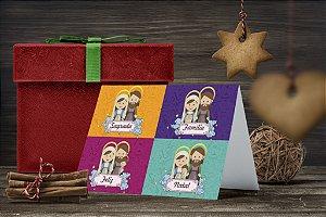 Cartão de Natal Personalizado Impresso 225