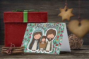 Cartão de Natal Personalizado Impresso 224