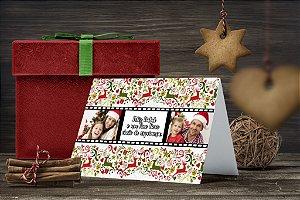 Cartão de Natal Personalizado Impresso 223