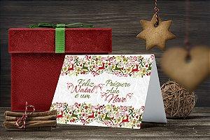 Cartão de Natal Personalizado Impresso 222