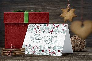Cartão de Natal Personalizado Impresso 220