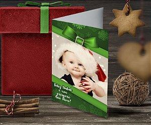 Cartão de Natal Personalizado Impresso 219