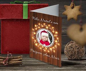Cartão de Natal Personalizado Impresso 218