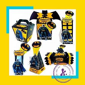 Kit com 6 caixinhas Batman