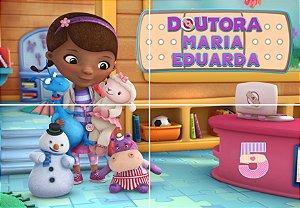Painel personalizado Doutora Brinquedos