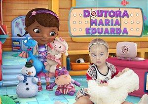 Painel personalizado Doutora Brinquedos com ou sem foto