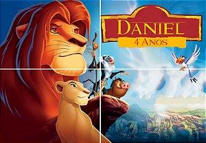 Painel personalizado Rei Leão