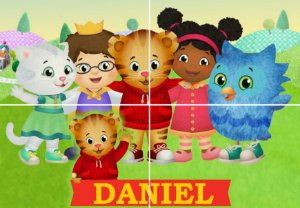 Painel personalizado Daniel Tigre