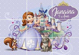 Painel personalizado Princesa Sofia