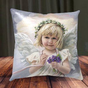 Almofada Personalizada para Festa Anjo da Guarda 5