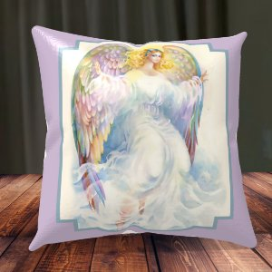 Almofada Personalizada para Festa Anjo da Guarda 2