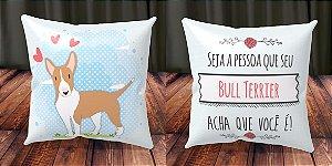 Almofada Personalizada - Cachorrinhos Bull Terrier 1