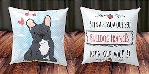 Almofada Personalizada - Cachorrinhos Bulldog Francês 1