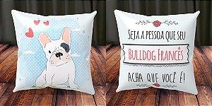 Almofada Personalizada - Cachorrinhos Bulldog Francês 2