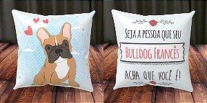 Almofada Personalizada - Cachorrinhos Bulldog Francês 3