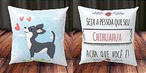 Almofada Personalizada - Cachorrinhos Chihuahua 4