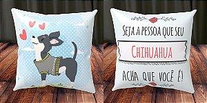 Almofada Personalizada - Cachorrinhos Chihuahua 5