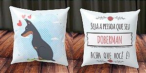 Almofada Personalizada - Cachorrinhos Doberman 1