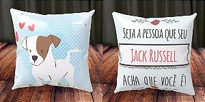 Almofada Personalizada - Cachorrinhos Jack Russell 1
