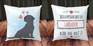 Almofada Personalizada - Cachorrinhos Labrador 1