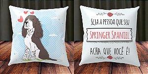 Almofada Personalizada - Springer Spaniel 1