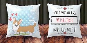 Almofada Personalizada - Welsh Corgi 2