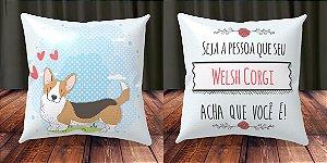 Almofada Personalizada - Welsh Corgi 3