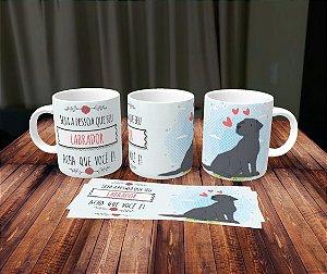 Caneca Cachorrinhos - Labrador 2