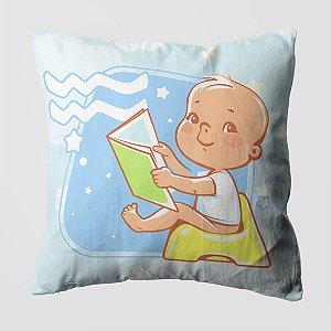 Almofada do Bebe Signo Aquário