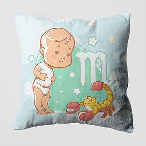 Almofada do Bebe Signo Escorpião