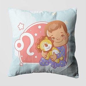 Almofada do Bebe Signo Leão