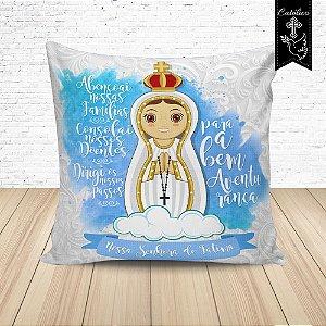 Almofada Nossa Senhora de Fátima