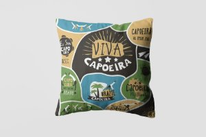 Almofada personalizada Capoeira 1-01