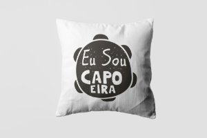 Almofada personalizada Capoeira  black-15