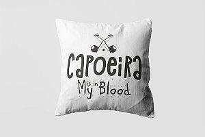Almofada personalizada Capoeira  black-11