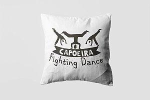Almofada personalizada Capoeira black-08