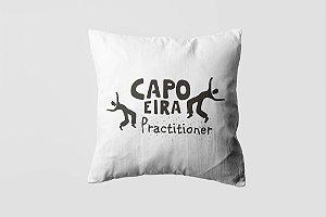 Almofada personalizada Capoeira black-05