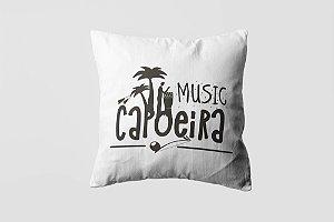 Almofada personalizada Capoeira black-01