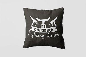 Almofada personalizada Capoeira white-09