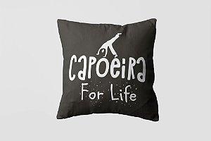 Almofada personalizada Capoeira white-08