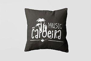 Almofada personalizada Capoeira white-01