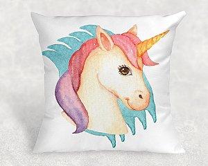 Almofada Personalizada para Festa Unicornio 16
